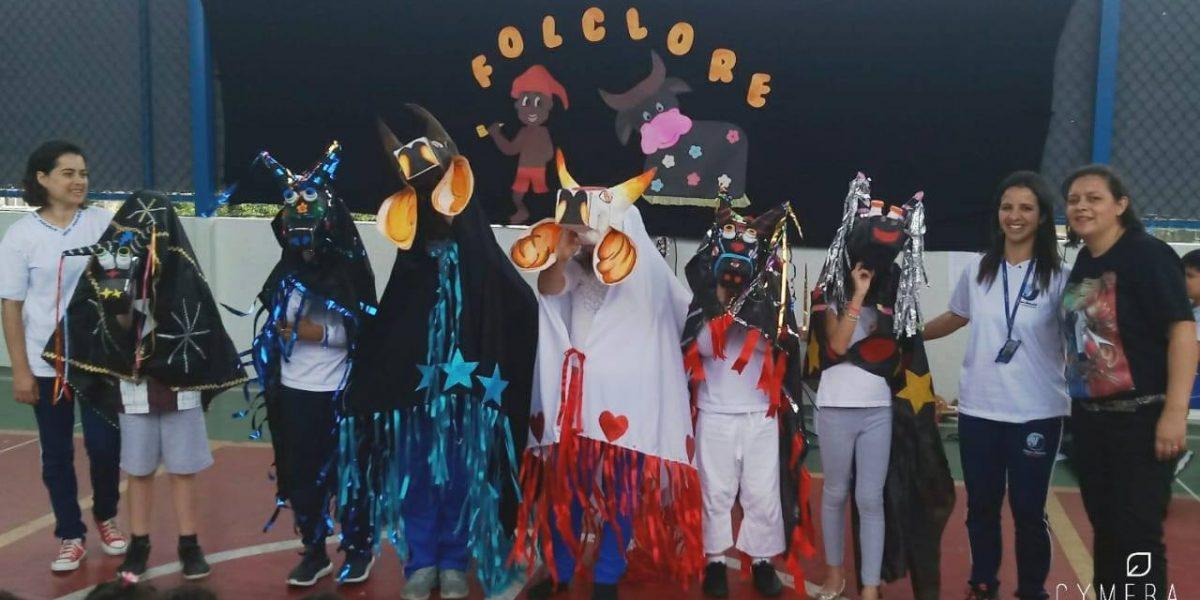 Folclore no Colégio Jatobá